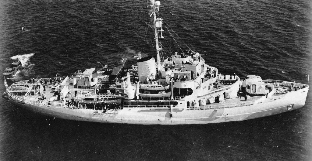 Les navires du Coast Guard Service des Etats-Unis Wag28010