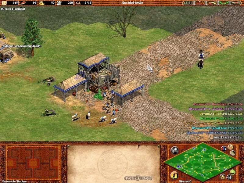 Fotos de una partida con 7  prysmaxt jugando juntos C: Aok45410