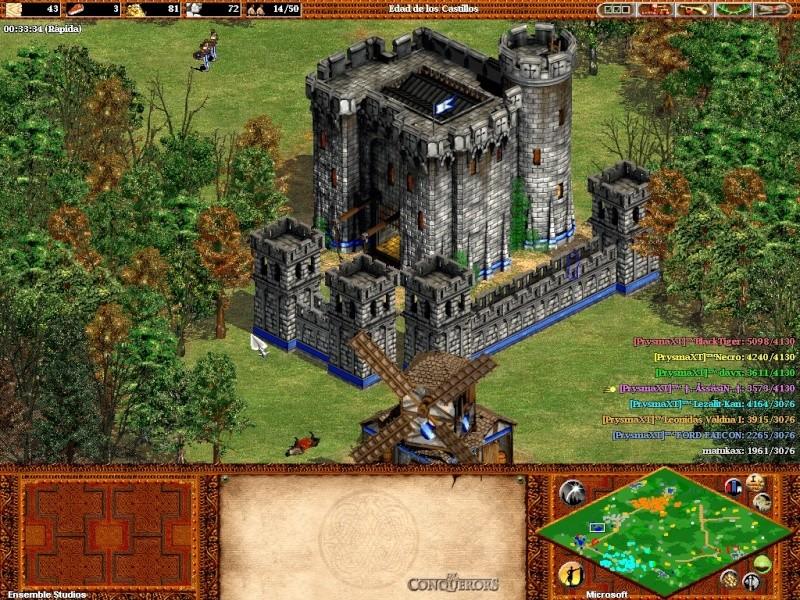 Fotos de una partida con 7  prysmaxt jugando juntos C: Aok45710
