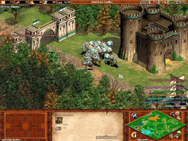 Fotos de una partida con 7  prysmaxt jugando juntos C: Aok45910