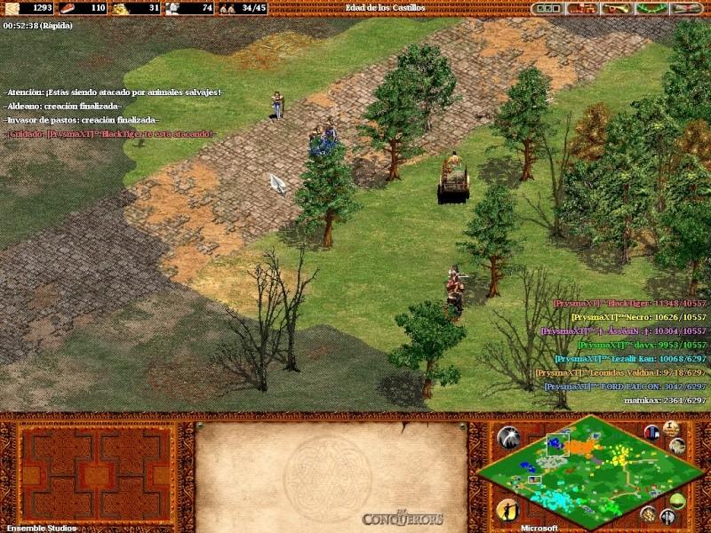 Fotos de una partida con 7  prysmaxt jugando juntos C: Aok46310