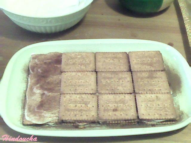 Gâteau aux petits beurre (un semblant de tiramisu)  00411