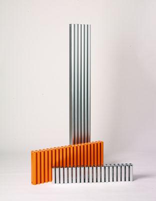 """Recherche radiateur électrique design """"industriel"""" à tubes Eskimo12"""