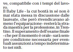 ARTICOLI E NEWS SUL BABY LIFE Cattur14