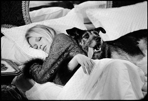 Brigitte dans le lit  1653_110
