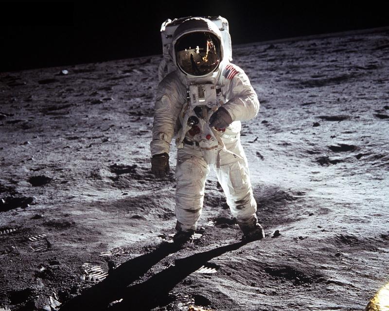 L'homme a marché sur la lune : les preuves Apollo10
