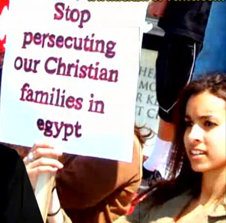 Enlévement d'une femme infirme Copte10