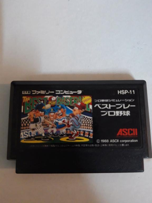 [VDS] Jeux Famicom en loose 20201023