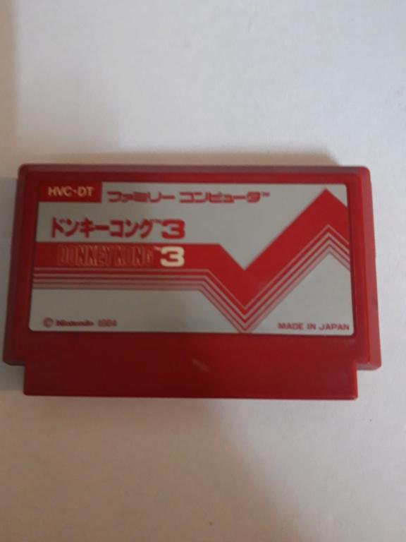 [VDS] Jeux Famicom en loose 20201025