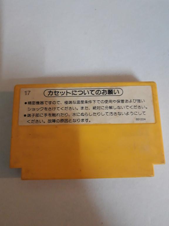[VDS] Jeux Famicom en loose 20201036