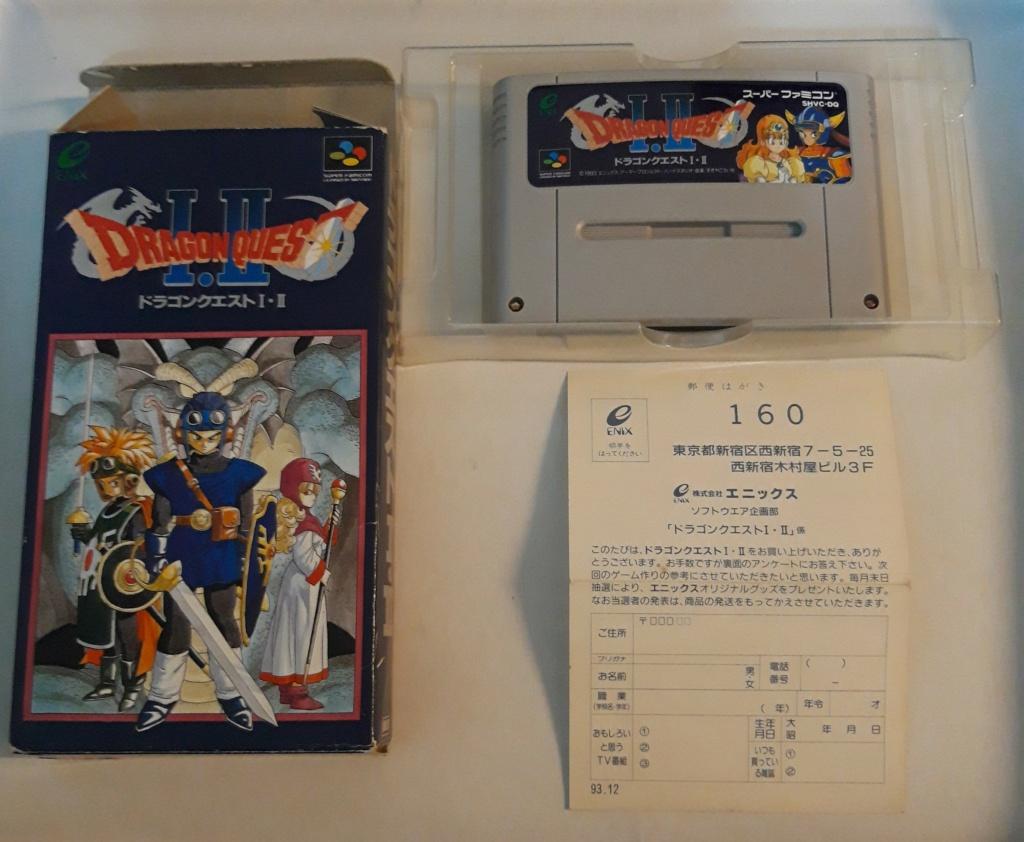 [VDS] Jeux Super Famicom en boite 20201072