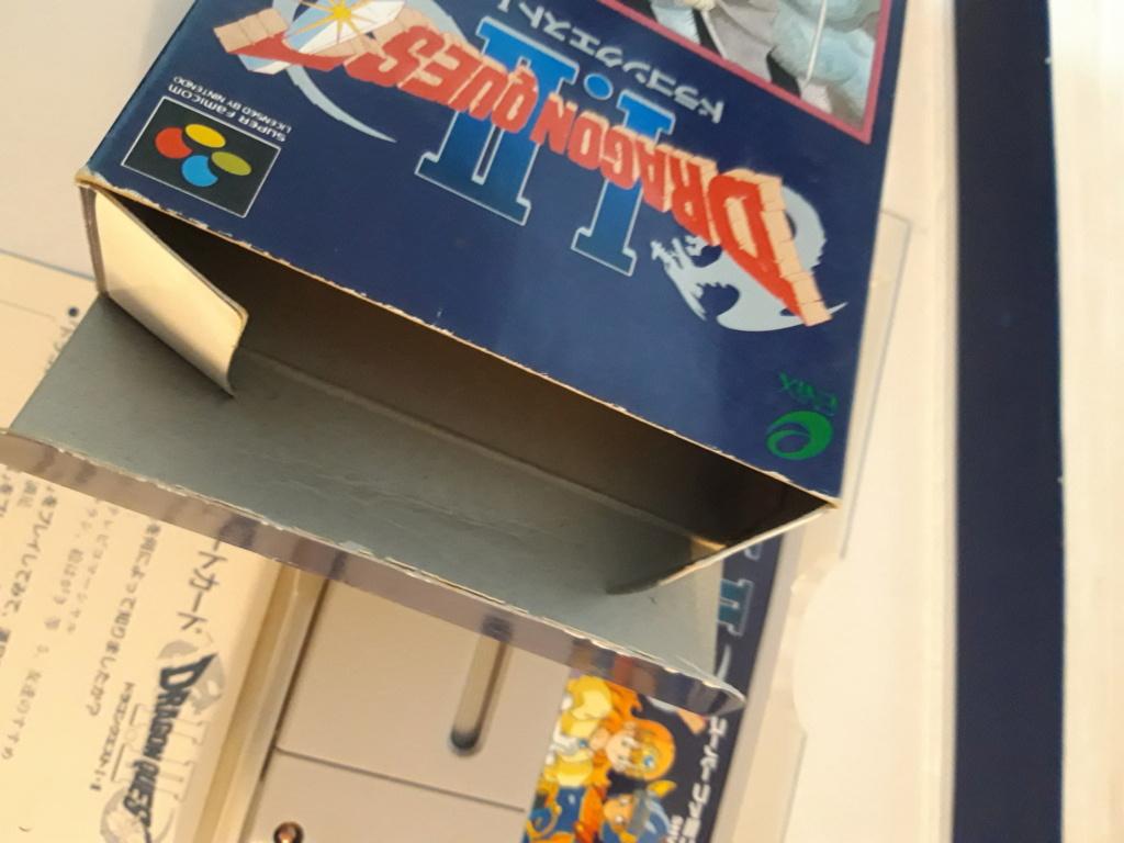 [VDS] Jeux Super Famicom en boite 20201074