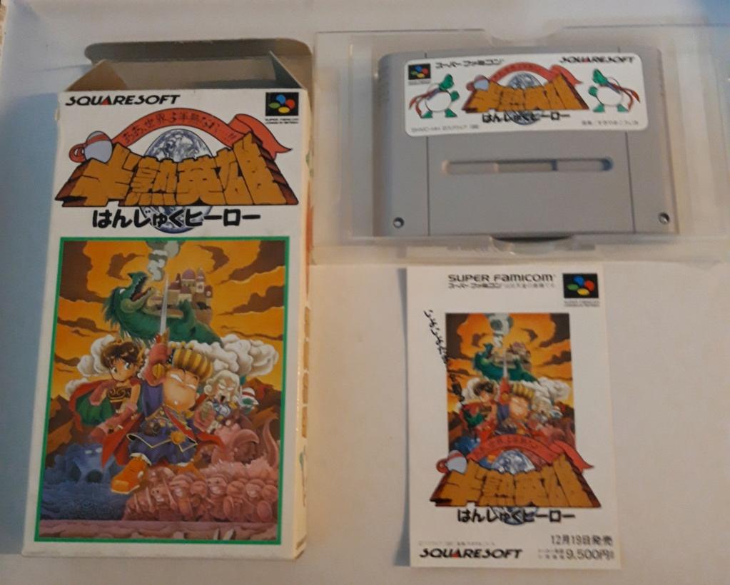 [VDS] Jeux Super Famicom en boite 20201075