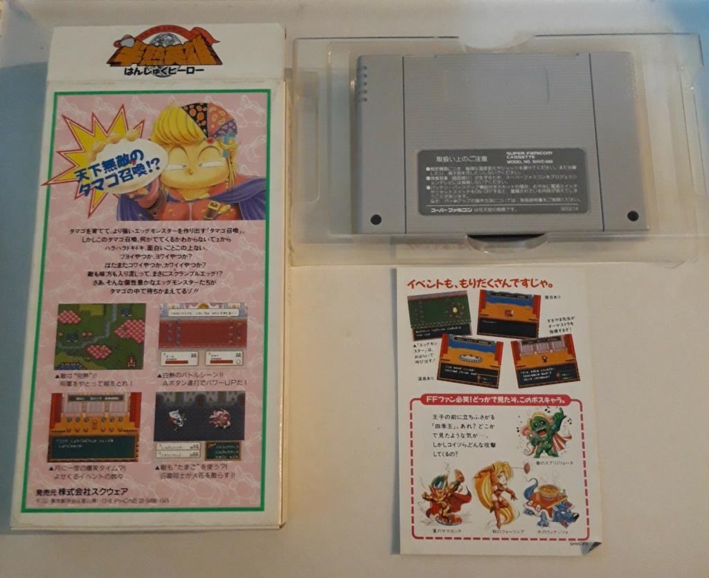[VDS] Jeux Super Famicom en boite 20201076
