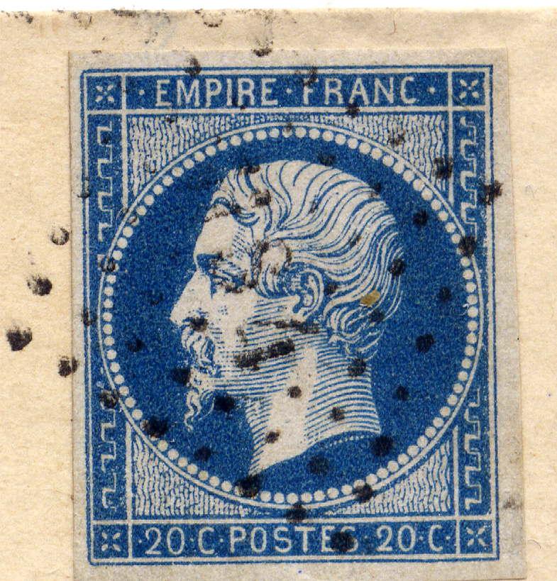 Losanges de PARIS 1852 /1863 chiffres bâton ou romaines File0015