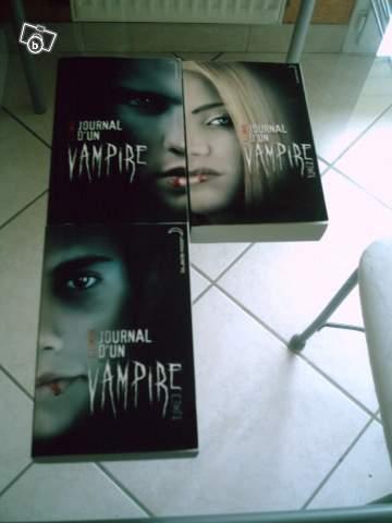 Vente de Journal d'un vampire t.1.2.3 de LJ Smith 82470110
