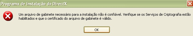 Erro no DirectX Imagem13