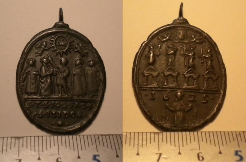 Médaille de St Isidor de 1625 Madail10