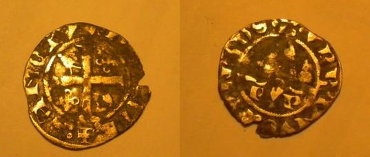 Quart de gros-COMTAT-VENAISSIN - AVIGNON - URBAIN V (Guillaume de Grimoard) (28/09/1362-09/12/1370) Monnai10