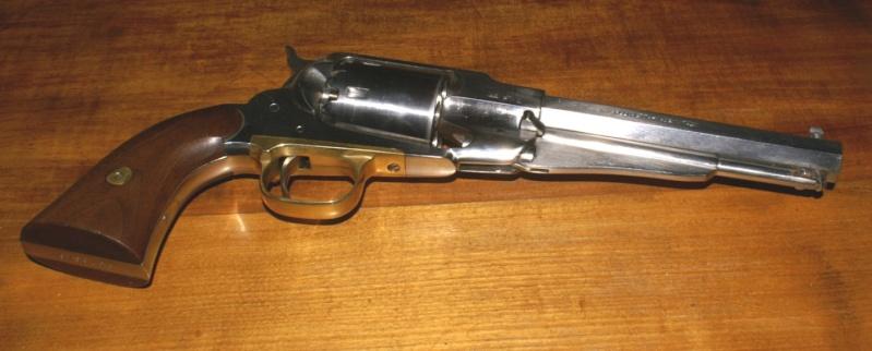 vieillir une arme en inox poli Sa110