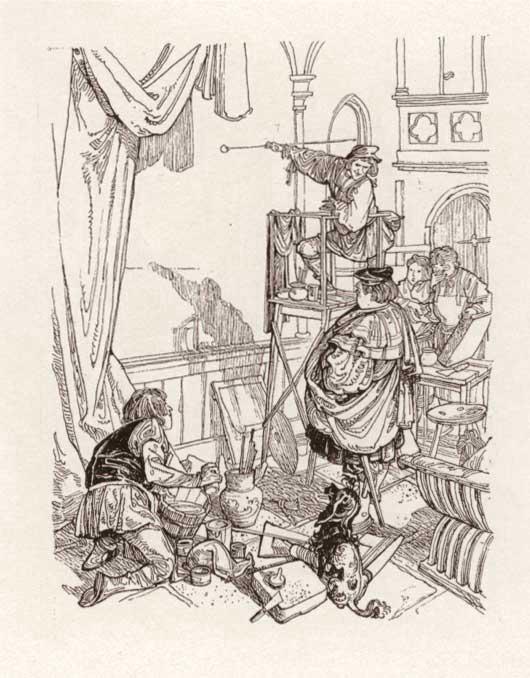 القصيد السيمفونى (تيل المهزار او مرآة البوم) Till Eulenspiegel مصنف رقم 28 اشهر اعمال ريتشارد شتراوس 02till10