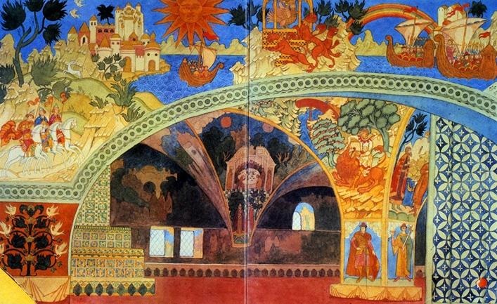 صورة موسيقية  بعنوان ( سادكو)  Sadko مصنف رقم 5 للموسيقار ريمسكى كورساكوف 1410