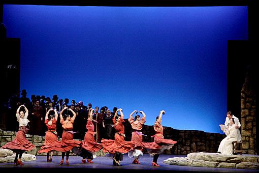 افتتاحية اوبرا الحياة قصيرة من اعمال الموسيقار الاسبانى مانويل دى فايا 20101010