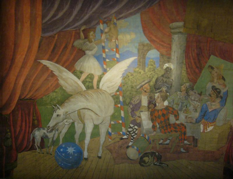 موسيقى باليه باراد Parade  من اعمال اريك ساتيه للاوركسترا 35119110