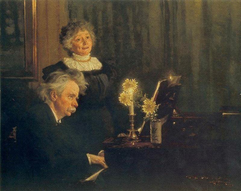 كونشرتو البيانو والاوركسترا Piano Concerto in A-, Op.16 من اعمال ادفارد جريج 3630510