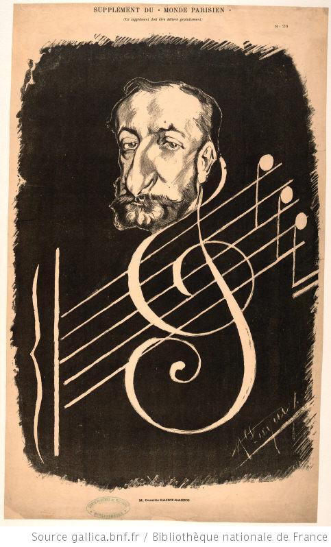 عمل اوركسترالى للبيانو والاوركسترا بعنوان  Allegro appassionato مصنف رقم 70 من تاليف سان صانص Camill15