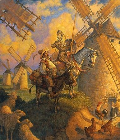 رائعة ريتشارد شتراوس القصيد السيمفونى (دون كيشوت) مصنف رقم 35 مع الشرح Don_qu10