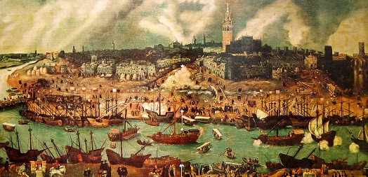 Fete-Dieu a Seville بتوزيع اوركسترالى من اعمال اسحاق البنيز La_sev10