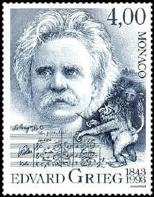 لحنان رائعان للاوركسترا melodies مصنف 53 من اعمال ادفارد جريج Monaco10