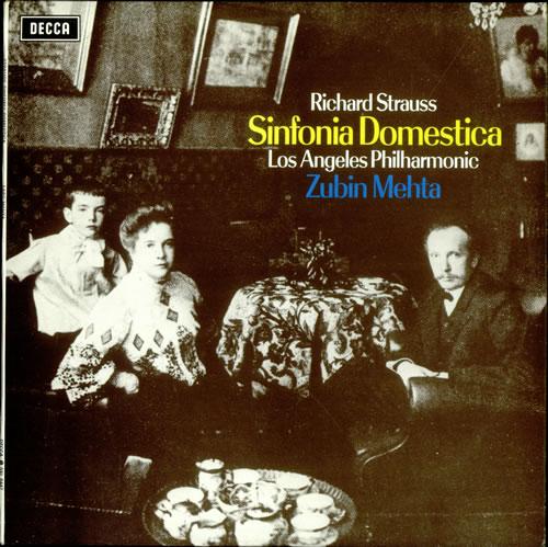 القصيد السيمفونى Sinfonia domestica(السيمفونية العائلية) مصنف رقم 53 من اعمال ريتشارد شتراوس Richar13