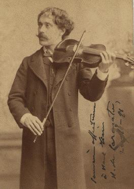 مقدمة وروندو كابريشيوزو للكمان والاوركسترا مصنف 28 من اشهر اعمال سان صانص الموسيقية Sarasa10