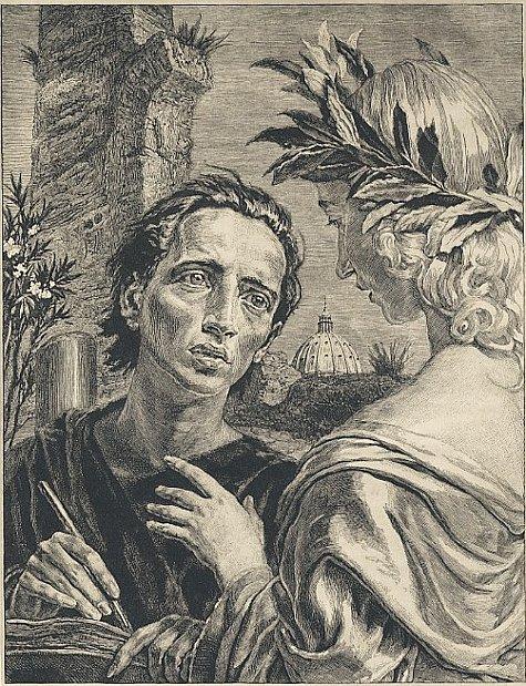 La muse et le poète للكمان والتشيلو والاوركسترا مصنف 132 من اعمال سان صانص  Svabin10