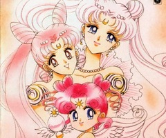 Theory: Why is Chibiusa's hair pink?  Tumblr15
