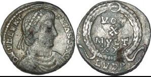 Imitations de Valentinien I - LYON Sans_123