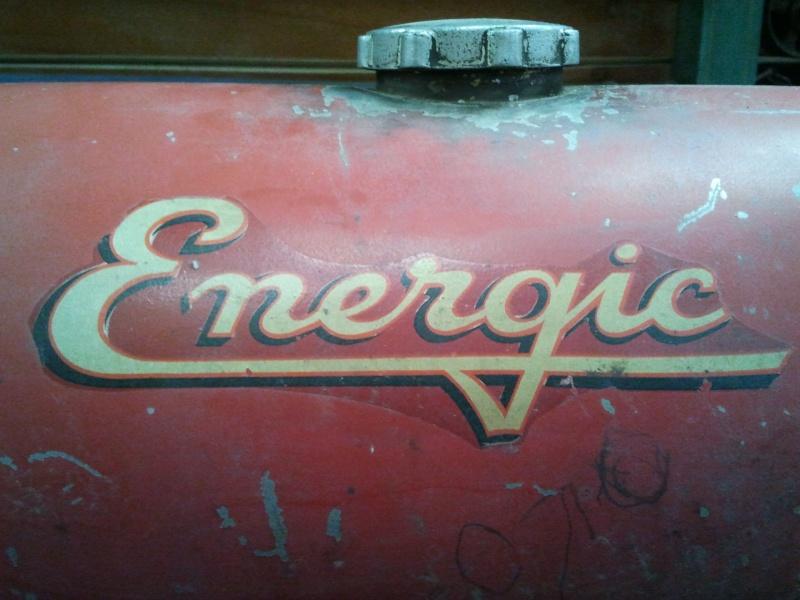 energic - Autocollans pour tracteurs et motoculteurs Energic 2012-010