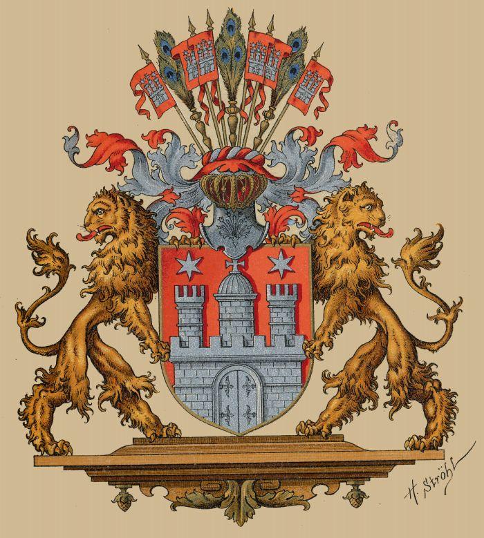 Wappen von Hamburg Corel/Movo (gscappini) Hambur11