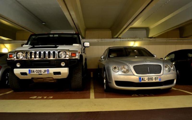 Parkings parisiens qui accepte la hauteur de nos Hummer  Captur29