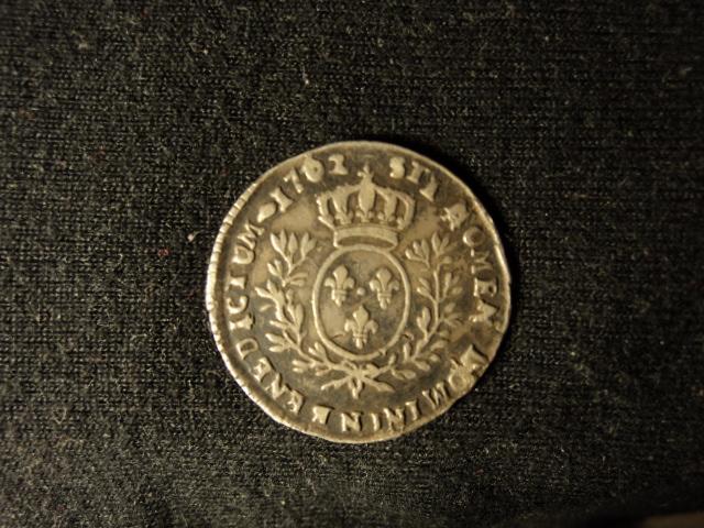 louis xv 1762 N 1/10em ECU Dsc00437