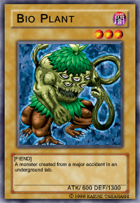 Cards who's artwork ascends their atk pts in awesomeness Bio20p11
