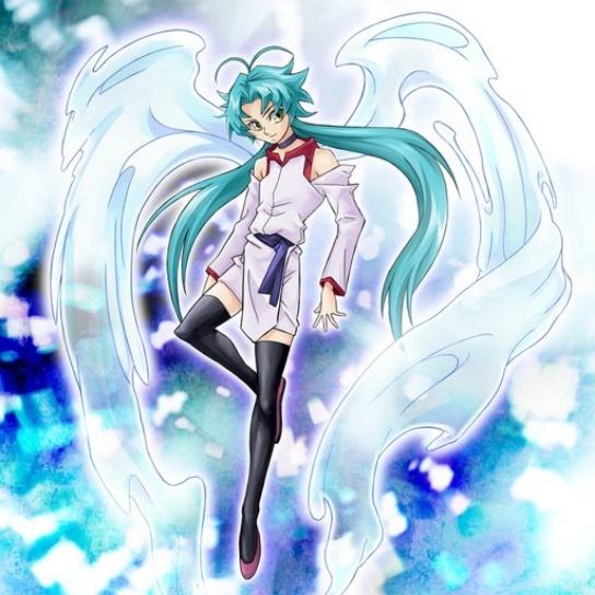 White dragon ninja is a girl Effect10