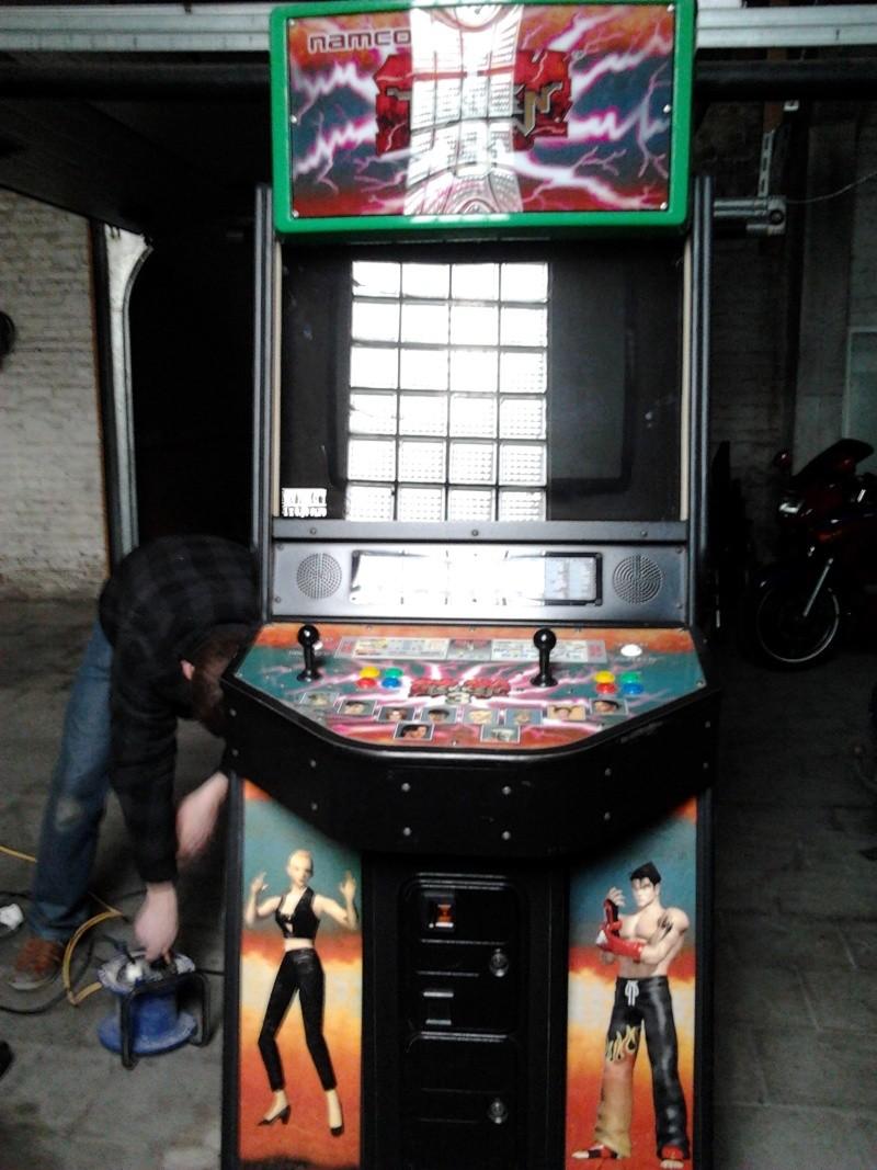 [VENDS] Borne d'arcade Tekken 3  2012-019