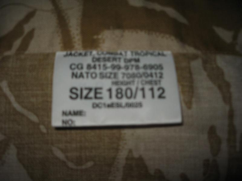 Fake desert DPM shirt? 211