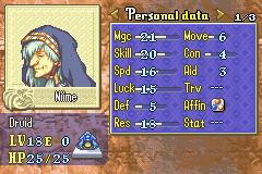 Soluce de Fire Emblem 6 Niime10