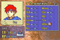 Soluce de Fire Emblem 6 Roy10