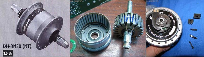 Ветрогенератор на динамовтулке (на постоянных магнитах) Dddddd24