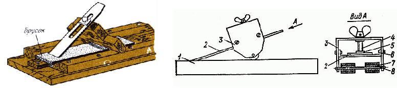 Приспособления для заточки ножей,  стамесок и ножей рубанков Ddndnd16